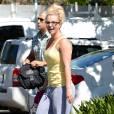 Britney Spears amincie à Los Angeles, le 6 septembre 2013