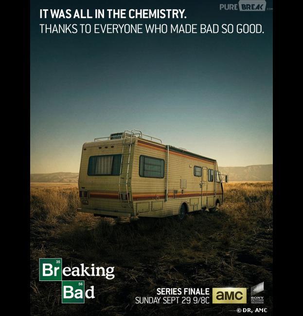 Poster final pour la saison 5 de Breaking Bad