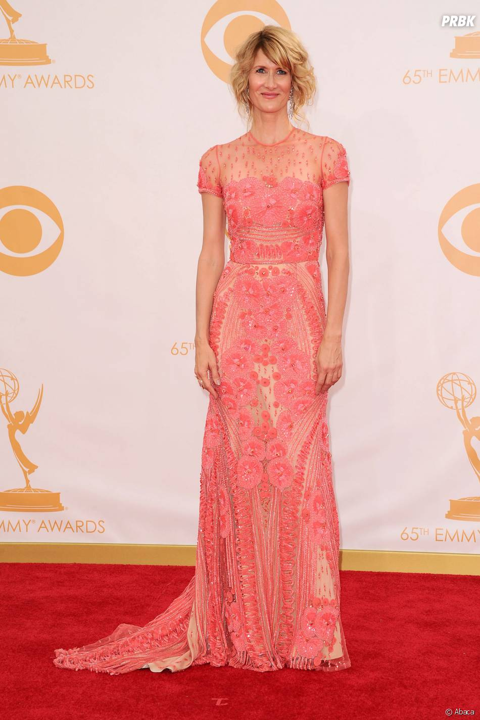 Laura Dern aux Emmy Awards 2013 le 22 septembre 2013 à Los Angeles
