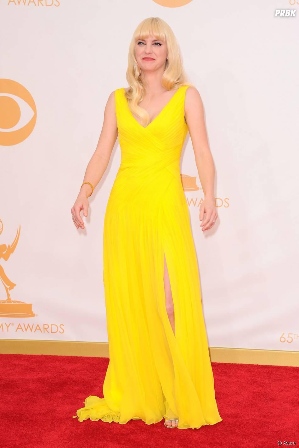Anna Faris aux Emmy Awards 2013 le 22 septembre 2013 à Los Angeles