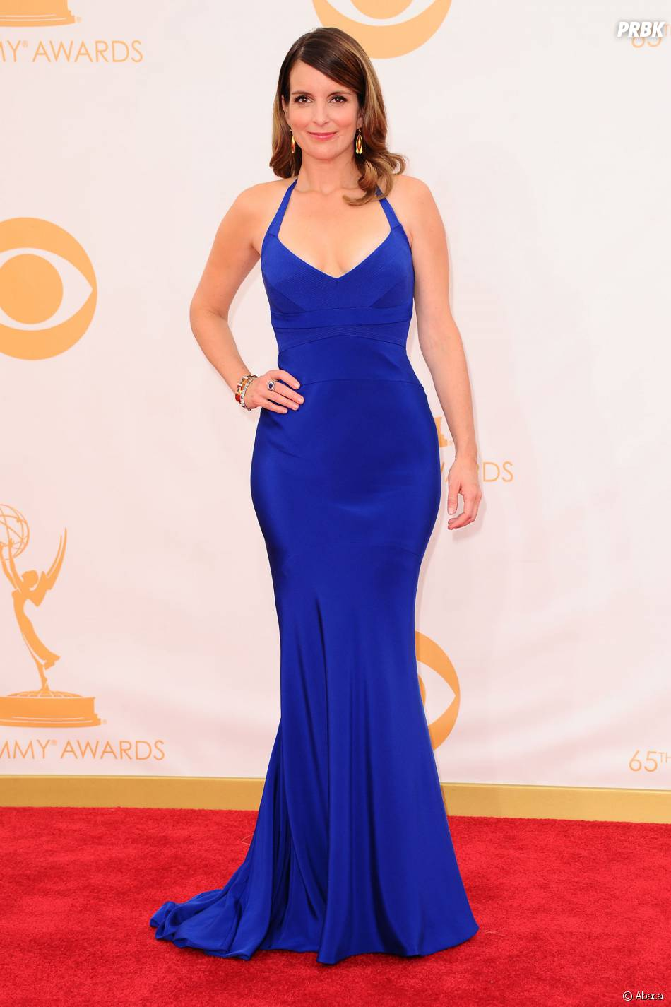 Tina Fey aux Emmy Awards 2013 le 22 septembre 2013 à Los Angeles