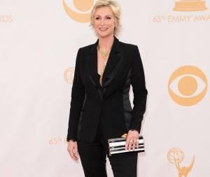 Jane Lynch aux Emmy Awards 2013 le 22 septembre 2013 à Los Angeles