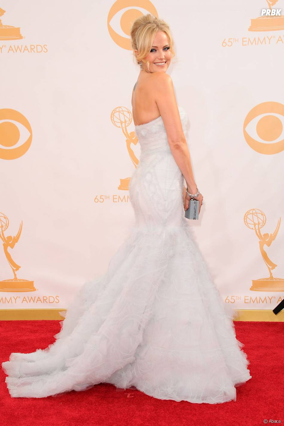 Malin Akerman aux Emmy Awards 2013 le 22 septembre 2013 à Los Angeles