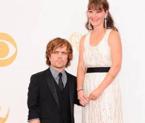 Peter Dinklage et sa femme aux Emmy Awards 2013 le 22 septembre 2013 à Los Angeles