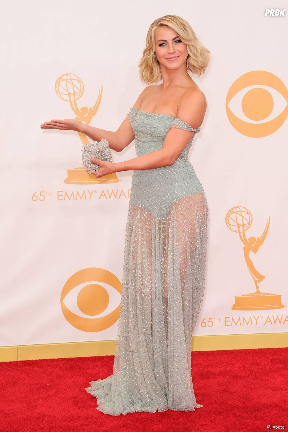 Julianne Hough aux Emmy Awards 2013 le 22 septembre 2013 à Los Angeles