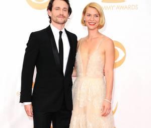Hugh Dancy et Claire Danes aux Emmy Awards 2013 le 22 septembre 2013 à Los Angeles