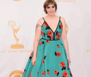 Lena Dunham aux Emmy Awards 2013 le 22 septembre 2013 à Los Angeles