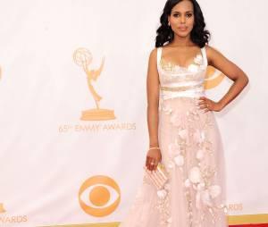 Kerry Washington aux Emmy Awards 2013 le 22 septembre 2013 à Los Angeles