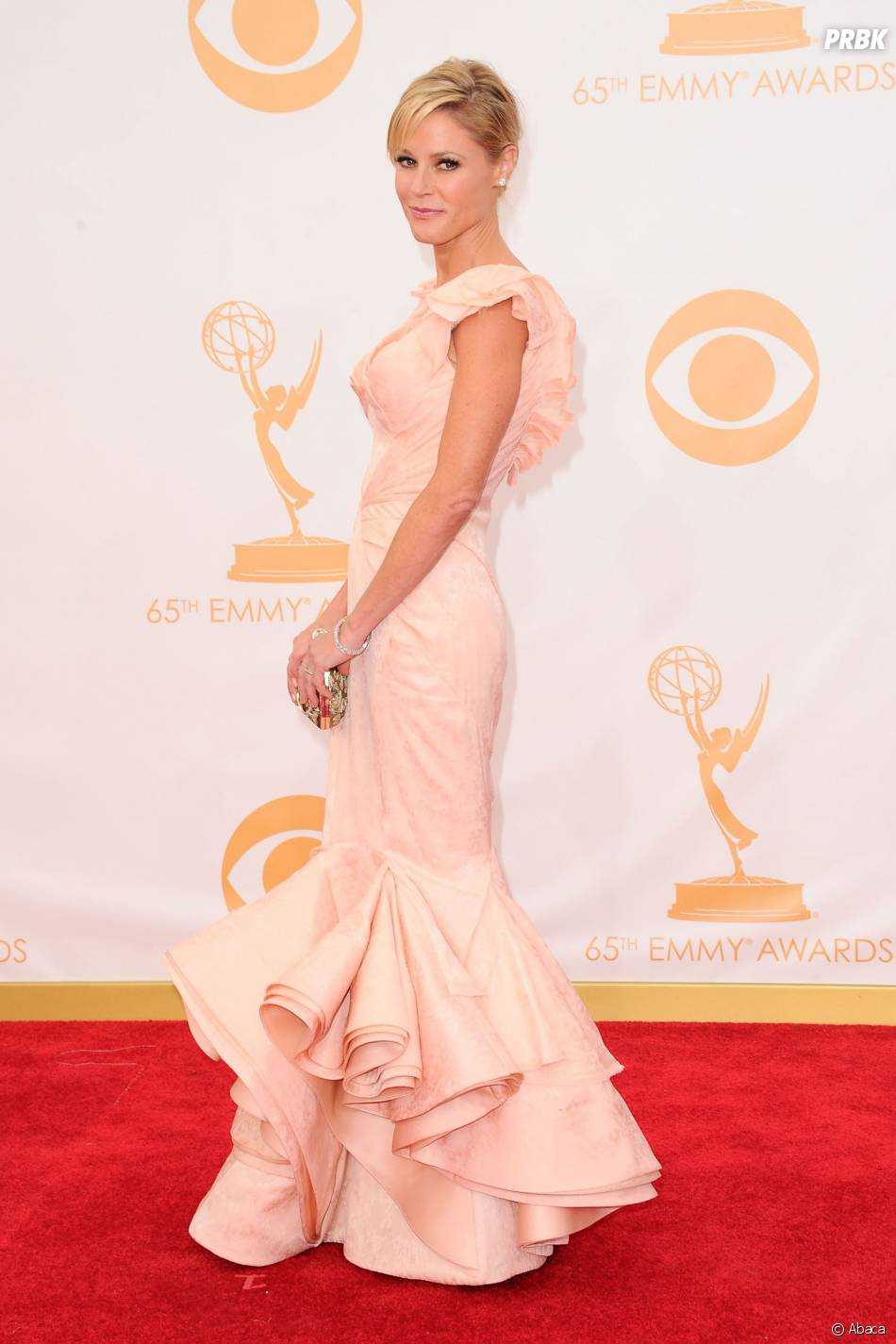 Julie Bowen aux Emmy Awards 2013 le 22 septembre 2013 à Los Angeles