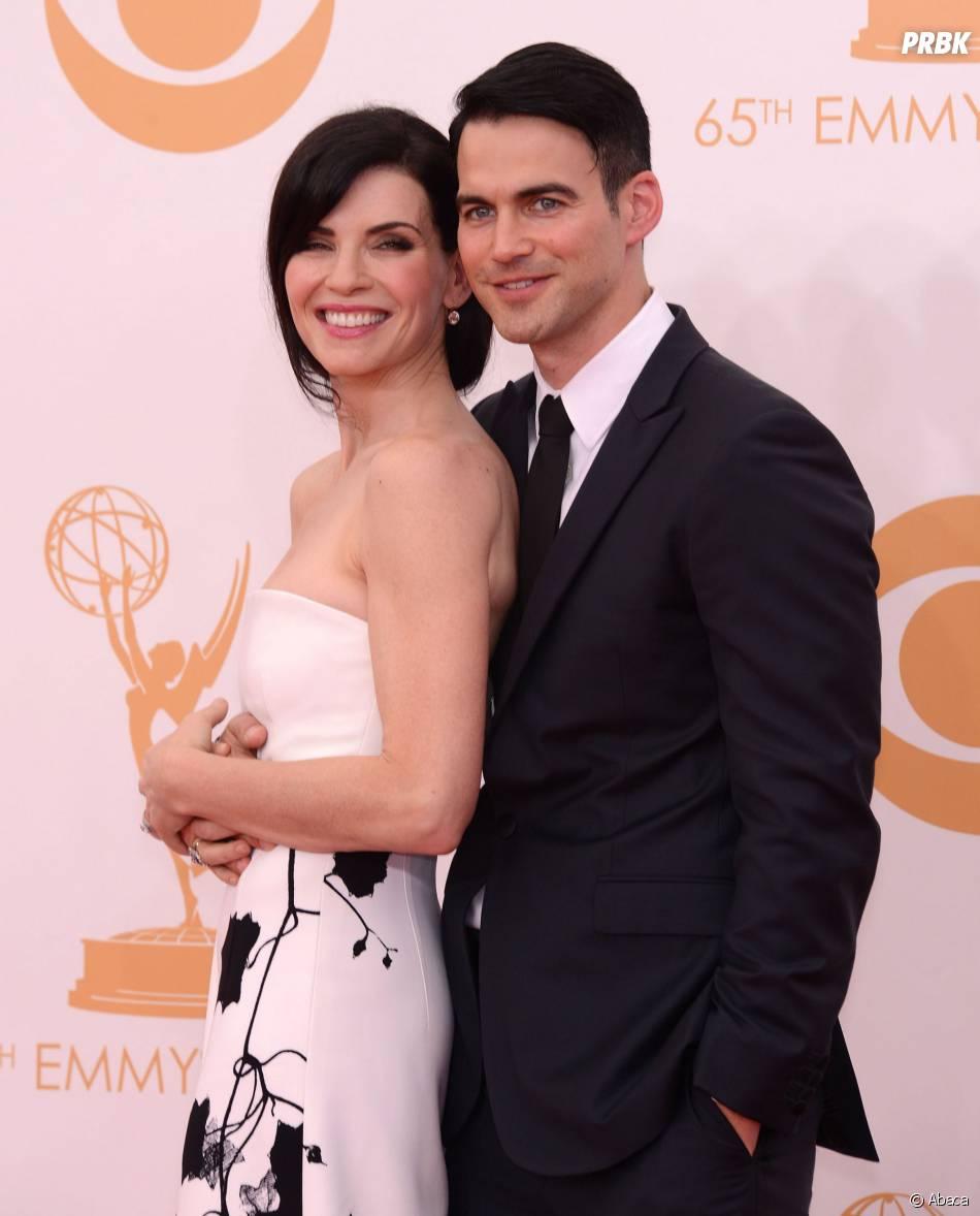 Julianna Margulies et son mari aux Emmy Awards 2013 le 22 septembre 2013 à Los Angeles