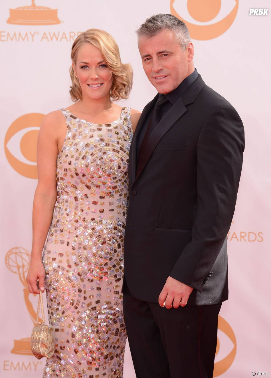Matt Leblanc et sa femme aux Emmy Awards 2013 le 22 septembre 2013 à Los Angeles