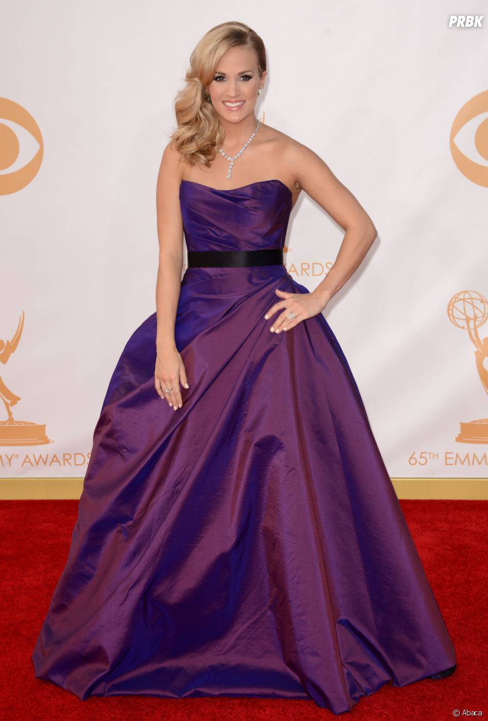 Carrie Underwood aux Emmy Awards 2013 le 22 septembre 2013 à Los Angeles