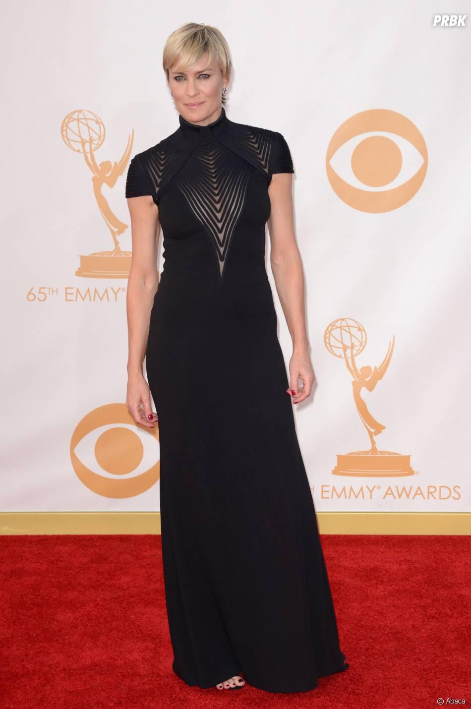 Robin Wright aux Emmy Awards 2013 le 22 septembre 2013 à Los Angeles