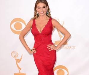 Sofia Vergara aux Emmy Awards 2013 le 22 septembre 2013 à Los Angeles