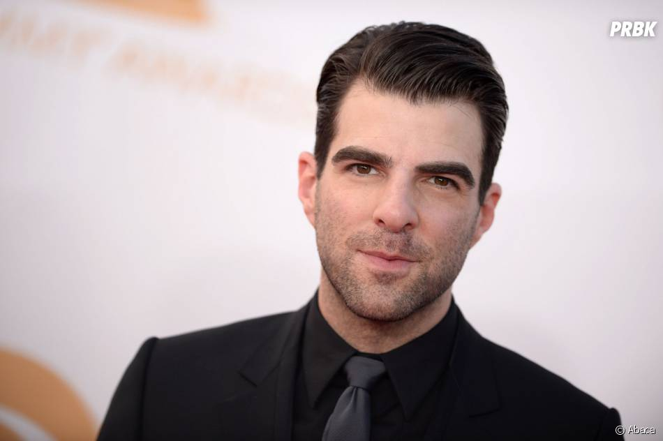 Zachary Quinto aux Emmy Awards 2013 le 22 septembre 2013 à Los Angeles