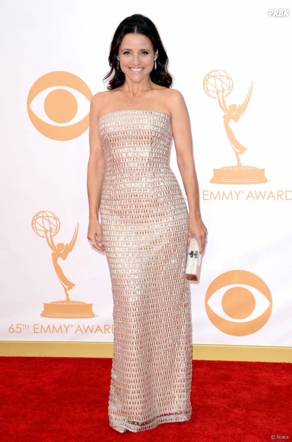 Julia Louis Dreyfus aux Emmy Awards 2013 le 22 septembre 2013 à Los Angeles