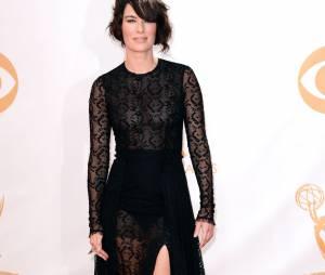 Lena Headey aux Emmy Awards 2013 le 22 septembre 2013 à Los Angeles