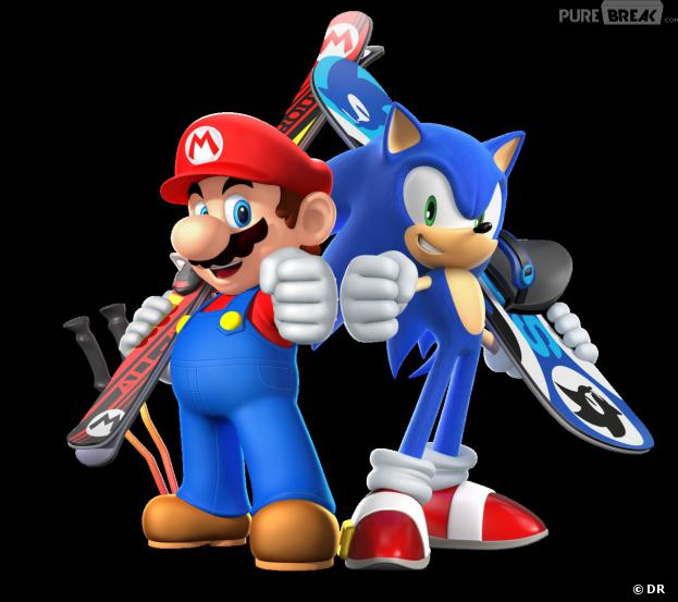 """""""Mario et Sonic aux Jeux Olympiques de Sotchi"""""""