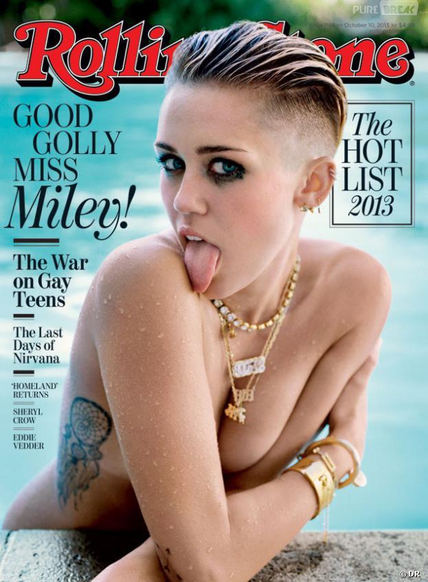 Miley Cyrus : une couverture provoc pour Rolling Stone