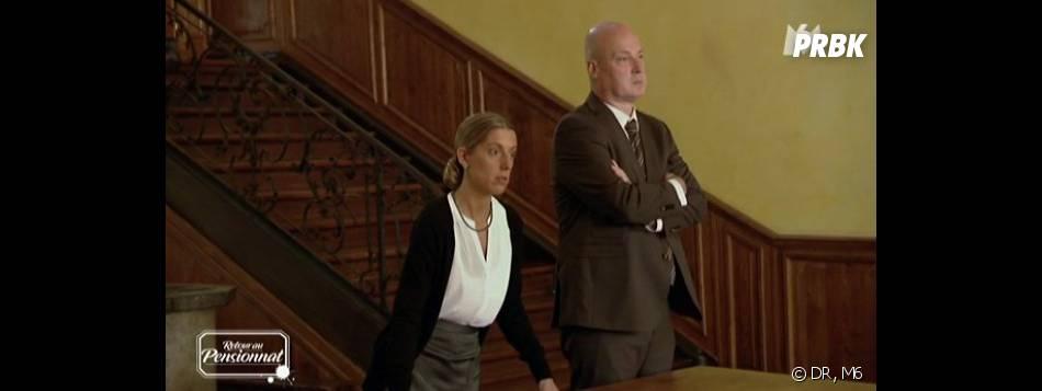 Retour au Pensionnat à la campagne : Mlle Lareigne et M. Bignon distribuent les chambres.