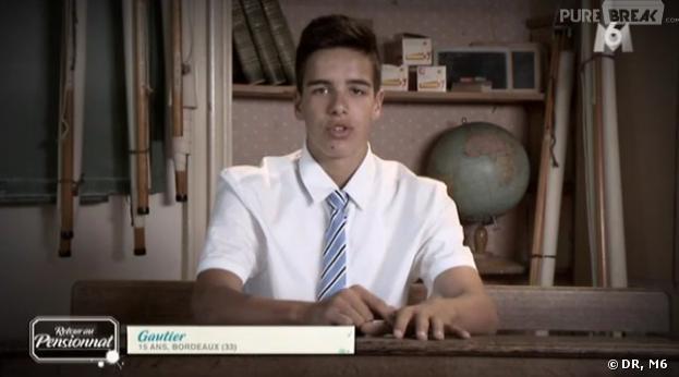 Retour au Pensionnat à la campagne : Gautier déjà playboy ?