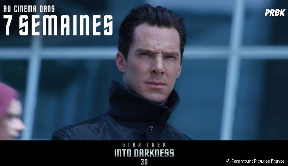 Benedict Cumberbatch est le grand méchant de Star Trek Into Darkness
