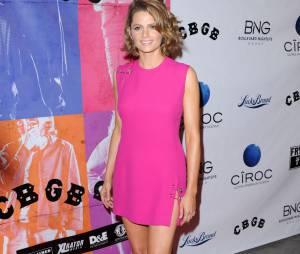 Stana Katic de Castle à la projection du film CBGB le 1er octobre 2013 à Los Angeles