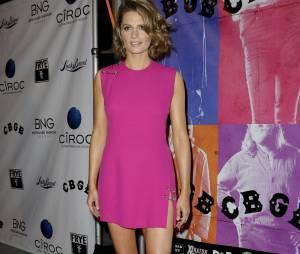 Stana Katic lors de la projection du film CBGB le 1er octobre 2013 à Los Angeles