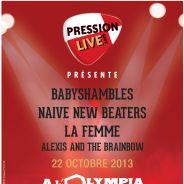 Babyshambles, Naive New Beaters, La Femme... Le Festival Pression Live investit l'Olympia