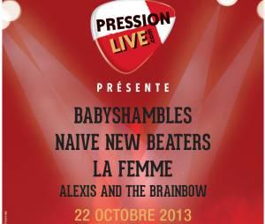 Babyshambles, Naive New Beaters, La Femme... Le Festival Pression Live investit l'Olympia le 22 octobre 2013