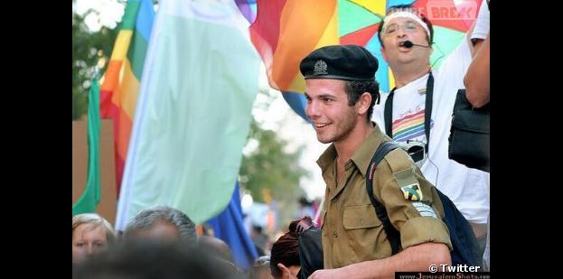 François Hollande : son sosie à la Gay Pride de Jérusalemn