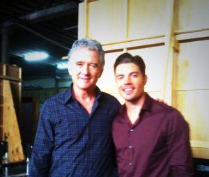 Dallas saison 3 : Patrick Duffy et Josh Henderson dans les coulisses du tournage