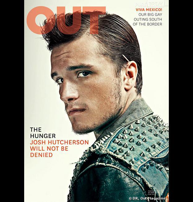 Josh Hutcherson propose un plan à trois pour Katniss, Peeta et Gale en couverture du magazine Out