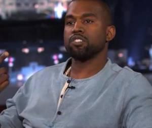 Kanye West affirme être un génie à Jimmy Kimmel