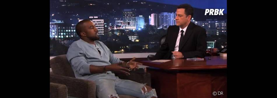 Kanye West s'est confié à Jimmy Kimmel