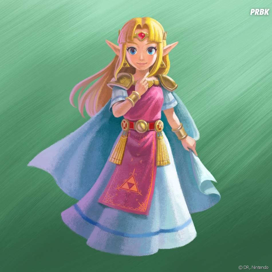 Zelda A Link Between Two Worlds : Zelda d'Hyrule
