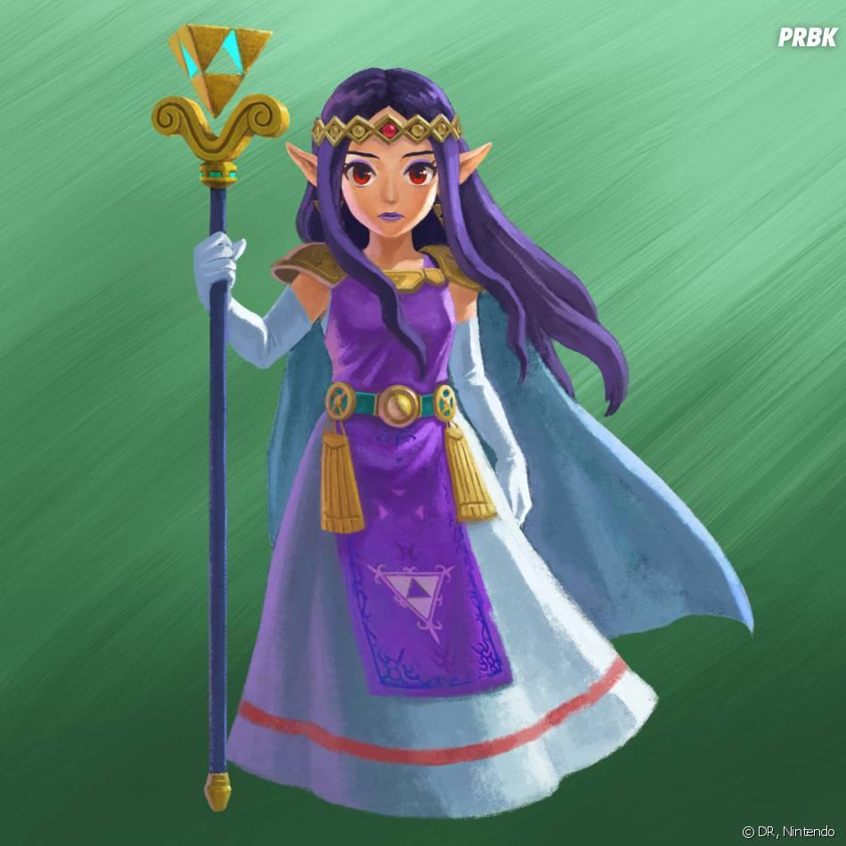Zelda A Link Between Two Worlds : Hilda de Lorule
