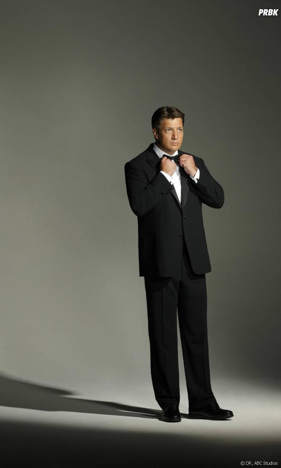 Castle saison 6 : nouvelle photo promo avec Nathan Fillion en costume