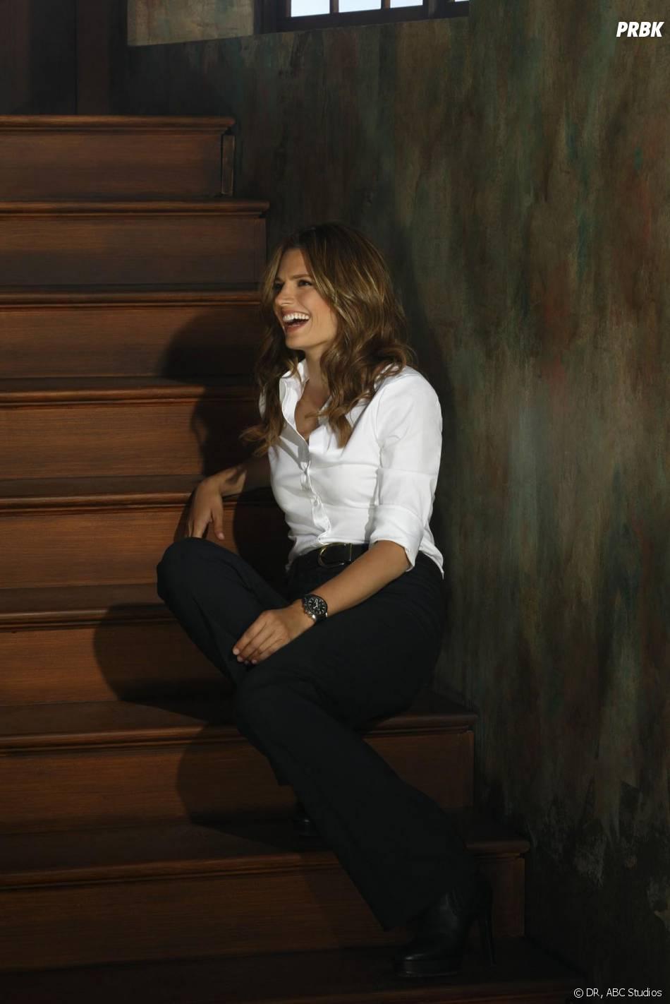 Castle saison 6 : nouvelle photo promo avec Stana Katic