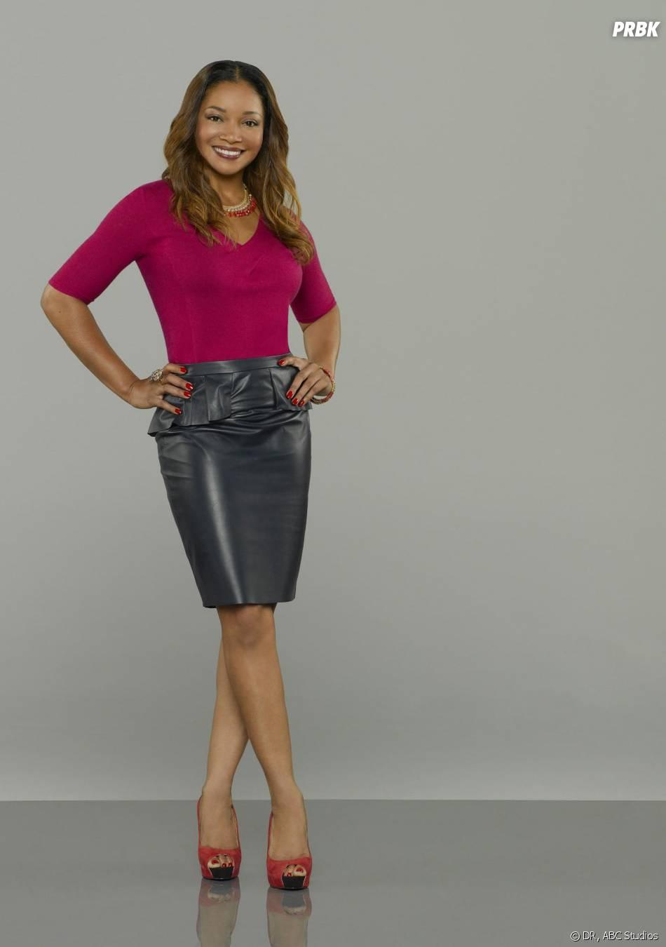 Castle saison 6 : nouvelle photo promo avec Tamala Jones