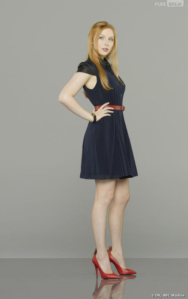 Castle saison 6 : nouvelle photo promo avec Molly Quinn dans le rôle d'Alexis