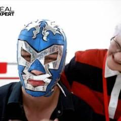 Lucienne sauve ta peau pour pécho avec... Un masque du catcheur !
