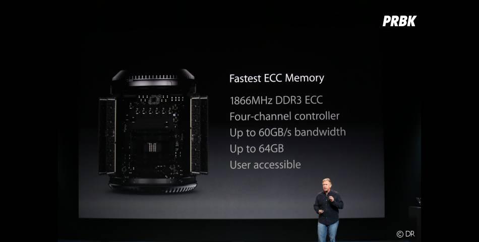 Keynote d'Apple du 22 octobre 2013 : le nouveau Mac Pro sort en novembre 2013