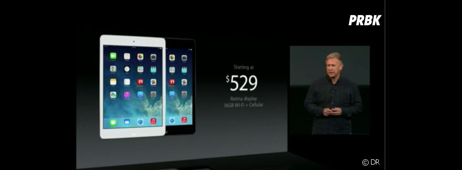 Keynote d'Apple du 22 octobre 2013 : l'iPad Air sera commercialisé dès novembre à partir de 499$