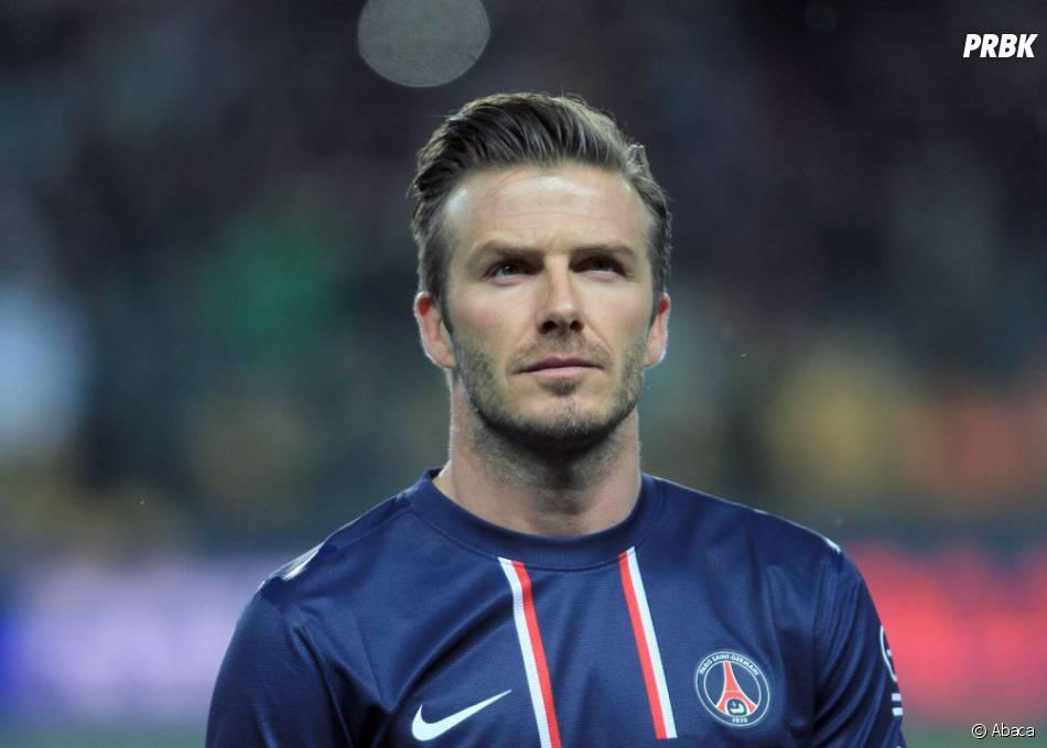 David Beckham : plus doué avec un ballon qu'une voiture