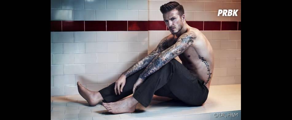 David Beckham Bodywear, les photos de sa collection hiver 2013 pour H&M