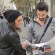 Tripoter les boules d'inconnus dans la rue... Nouvelle vidéo buzz pour la bonne cause