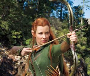 The Hobbit 2 : Evangeline Lilly se dévoile dans la peau de Tauriel