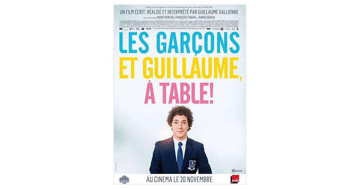 Les gar ons et guillaume table sortira le 20 novembre - Film guillaume et les garcons a table ...