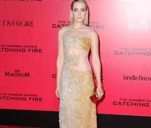 Jena Malone à l'avant-première du film Hunger Games à Los Angeles le 18 novembre 2013